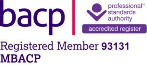 bacp registered member 93131